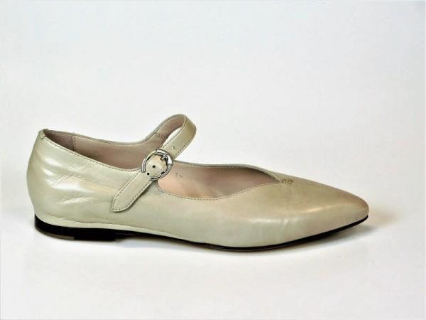 Ballerina Riemchen beige - Bild 1