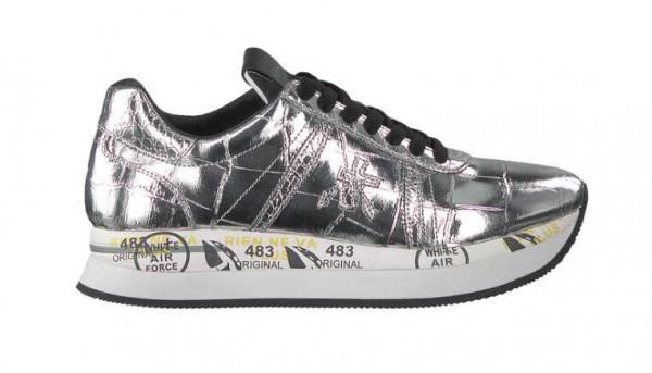 Premiata Sneaker Silber - Bild 1