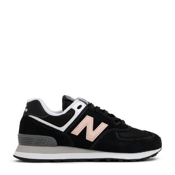 Sneaker schwarz/rosa - Bild 1