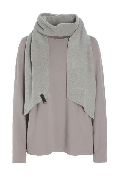 Langarm-Shirt + Schal