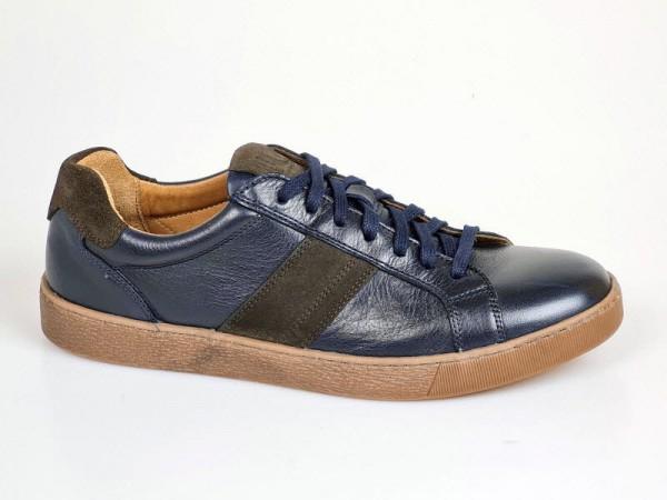 Sneaker blau/braun - Bild 1