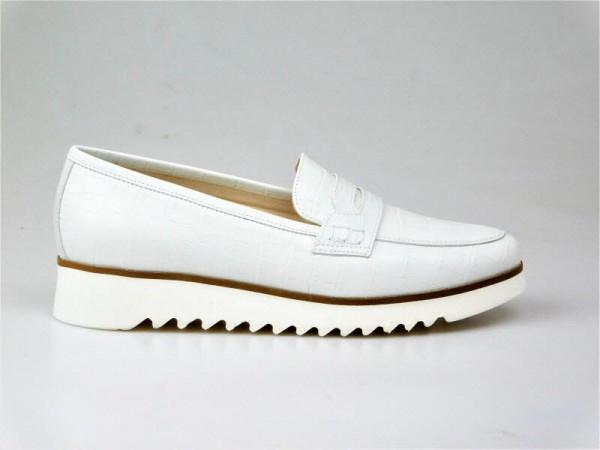 Nero Giardini Slipper Kroko weiß - Bild 1