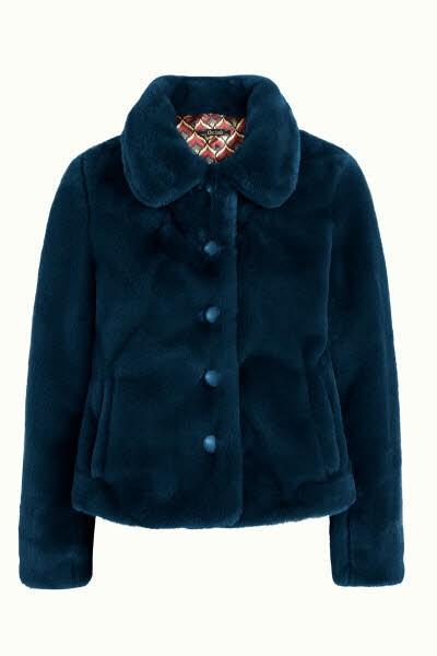 king louie Anais Coat Philly Bond Blue - Bild 1