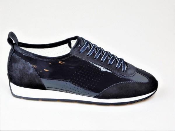 Kennel und Schmenger Sneaker Lack blau - Bild 1