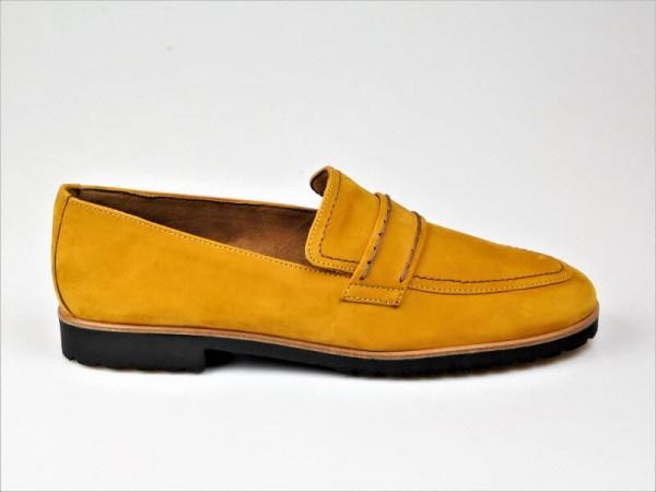 Paul Green Slipper nubuk curry - Bild 1