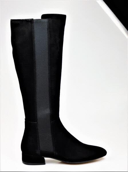 Vagabond Stiefel flach velour - Bild 1