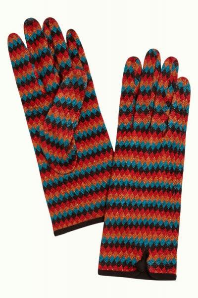 king louie Glove Cabaret umbre