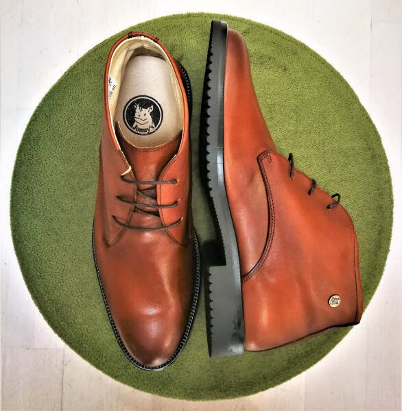 john w.shoes Herrenboot Cognac - Bild 1