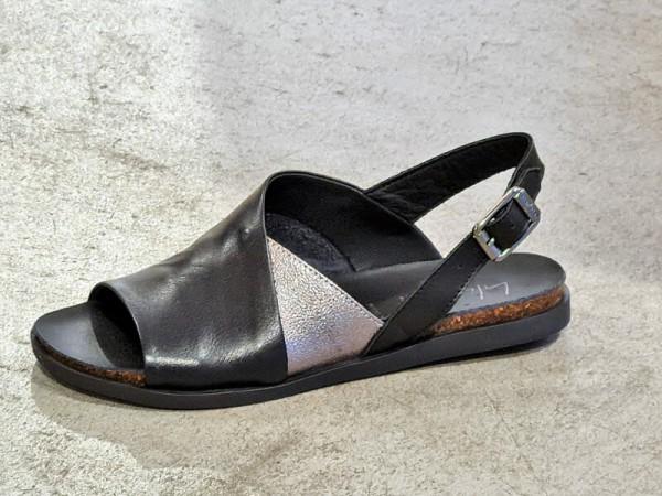 Sandale Twister nero - Bild 1