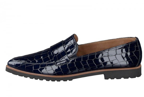 Paul Green Slipper Crocolack ocean - Bild 1
