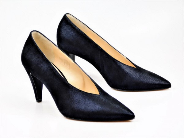 Högl Pumps V-Neck darkblue - Bild 1