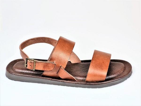 The Sandals Factory Herrensandale braun - Bild 1