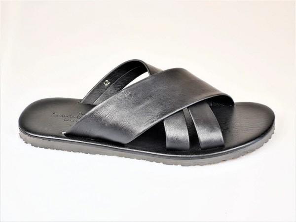 The Sandals Factory Herrenpantoffel schwarz - Bild 1