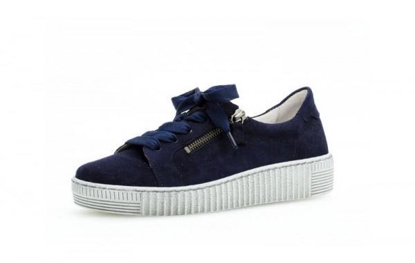 Sneaker velour bluette - Bild 1