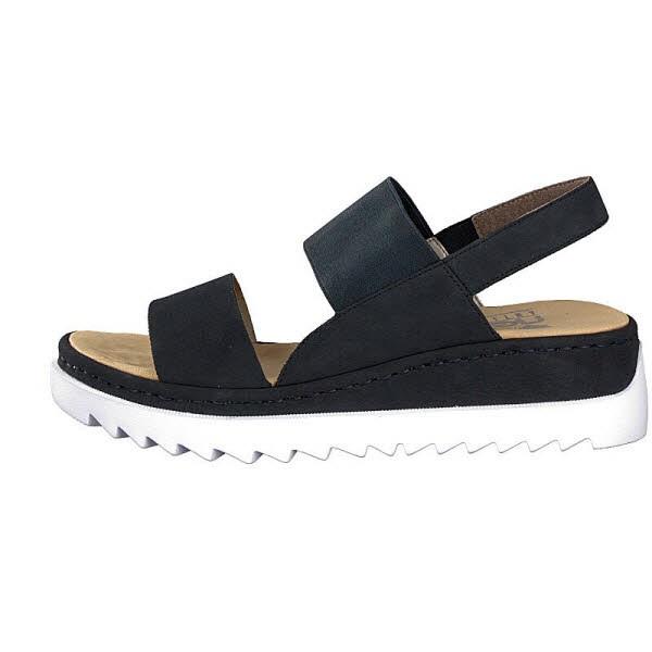 Sandale dunkelblau - Bild 1