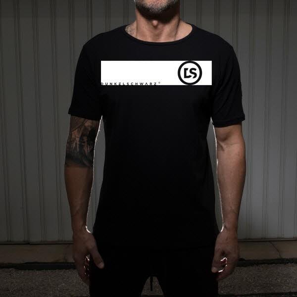 Dunkelschwarz T-Shirt DS-1 GST black