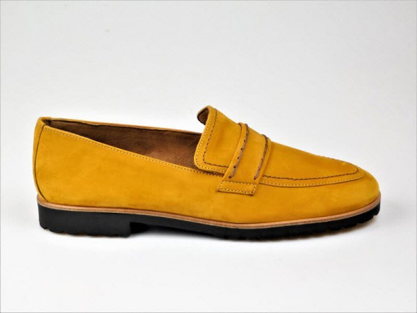 Paul Green Slipper nubuk curry - Bild 1