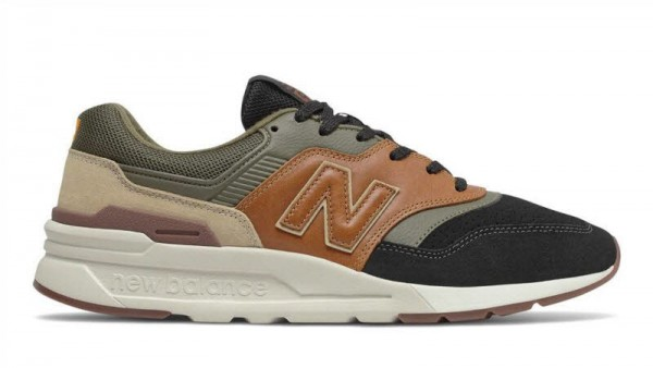 Sneaker 997 - braun kombiniert - Bild 1