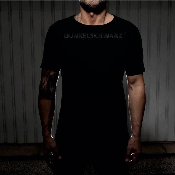 Dunkelschwarz T-Shirt DS-1 BIGWORDING black