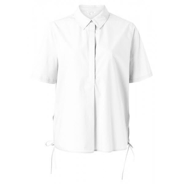 yaya A-line jersey mix top white - Bild 1