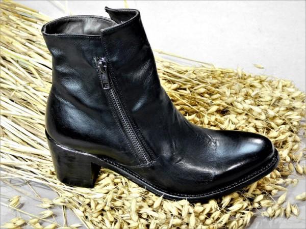 Cordwainer Stieflette Absatz schwarz - Bild 1