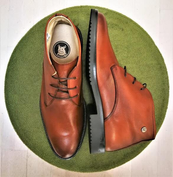 john w.shoes Herrenboot Cognac - Bild 1