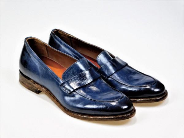Cordwainer Slipper Blue - Bild 1