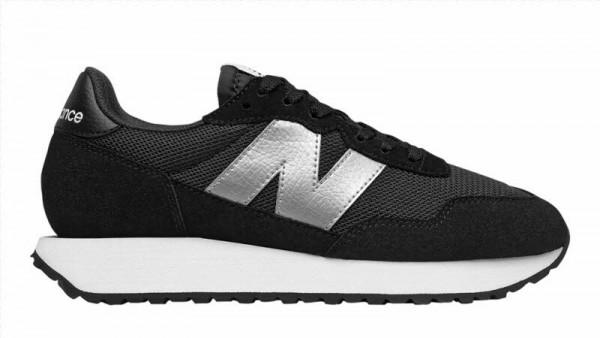Sneaker schwarz/silber - Bild 1