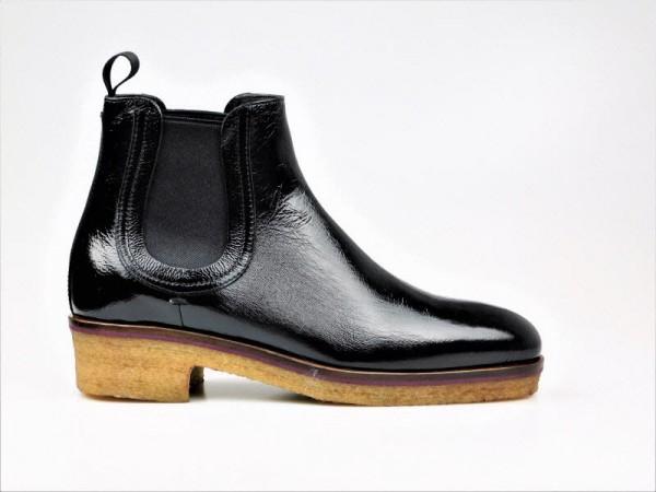 timeless design 68b4a a9c28 Chelsea-boot Lack schwarz