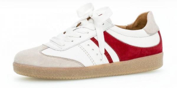 Sneaker weiß-rot - Bild 1