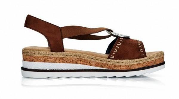 Sandale braun - Bild 1