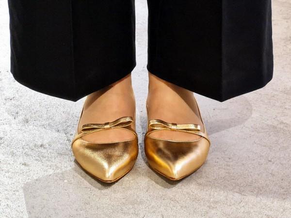 fabio rusconi Ballerina Masche gold - Bild 1