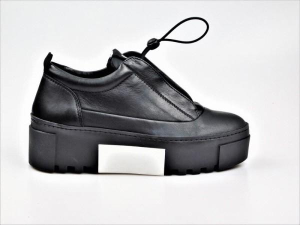 vic matie Sneaker schwarz-weiß - Bild 1