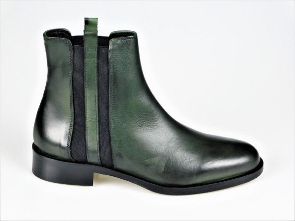 Gianni Crasto Chelsea-Boot Nature jade - Bild 1