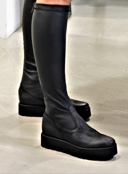 Boots long Nappa stretch nero - Bild 1