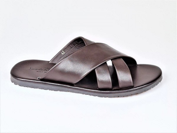 The Sandals Factory Herrenpantoffel braun - Bild 1