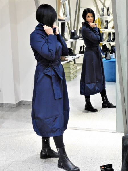 vicario Kleid blau