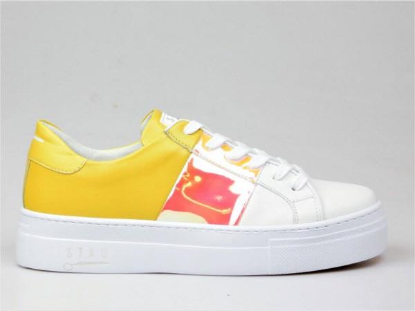 Stau Sneaker weiß-gelb - Bild 1