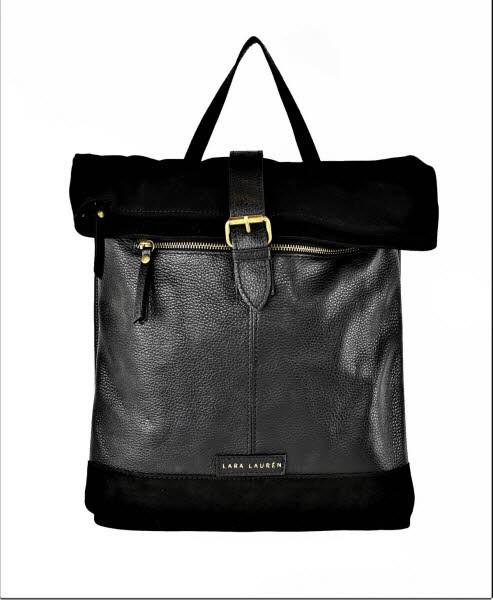 Lara Lauren Cebu packpack black - Bild 1