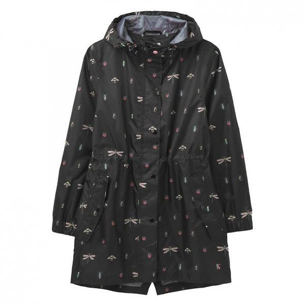 Damen Regenmantel Blackbugs