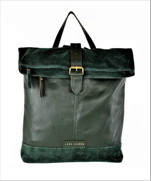 Lara Lauren Cebu packpack dark green - Bild 1
