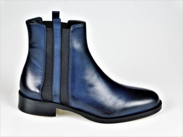 Gianni Crasto Chelsea-Boot Nature blu - Bild 1