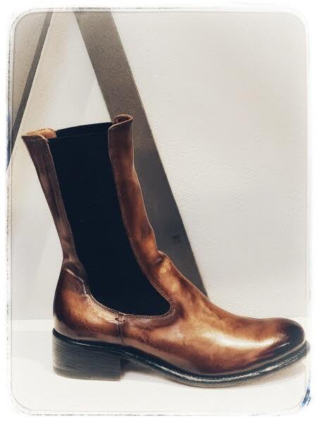 Cordwainer Chelsea-Boot beige