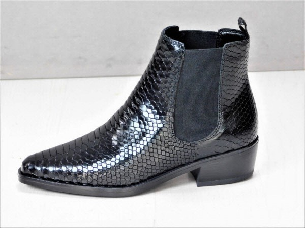 Chelsea-Boot black reptil - Bild 1