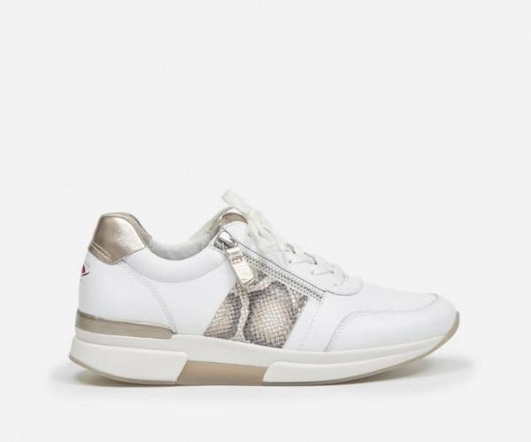 Sneaker weiß-gold - Bild 1