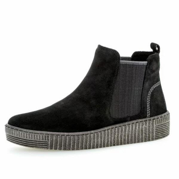 Chelsea-Boot schwarz-grau - Bild 1