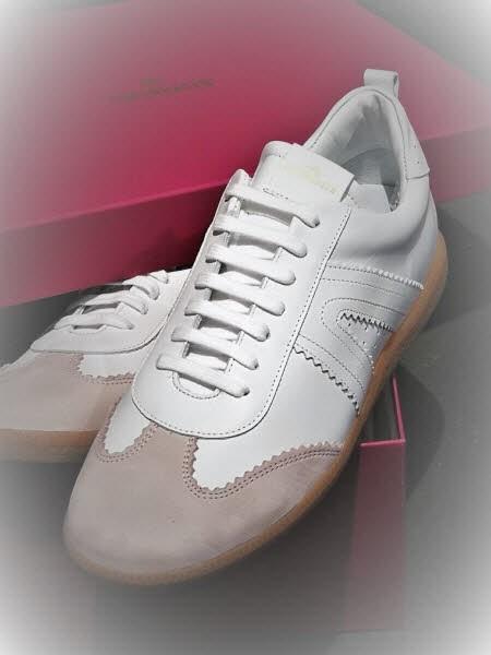 Copenhaben Sneaker Retro weiß-rose - Bild 1
