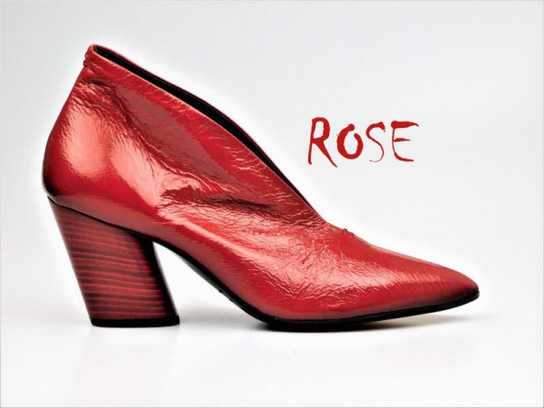 Halmanera Pumps Rose 31 rot - Bild 1
