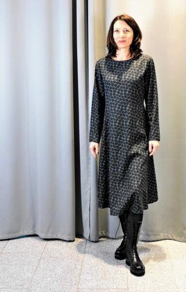 Dress Sendai black-anthrazit
