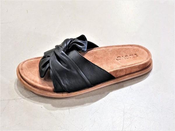 Pantoffel Masche schwarz - Bild 1